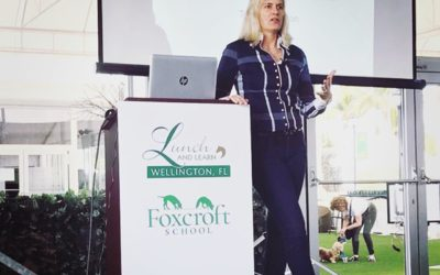 Mental Skills Presentation for Foxcroft School – WEF Lunch and Learn Program
