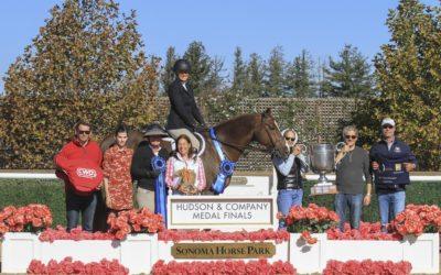 Tonya Johnston & Back in Business win Hudson & Co Jr/Am Medal Finals