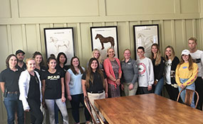 MSW: Savannah College of Art & Design Equestrian Team
